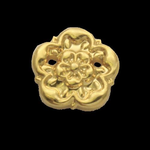 Gilt Rosette Medal Emblem