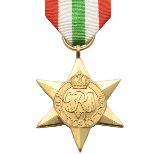 Italy Star World War 2 Medal