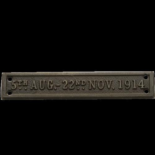 MONS Bar 1914 Star Clasp