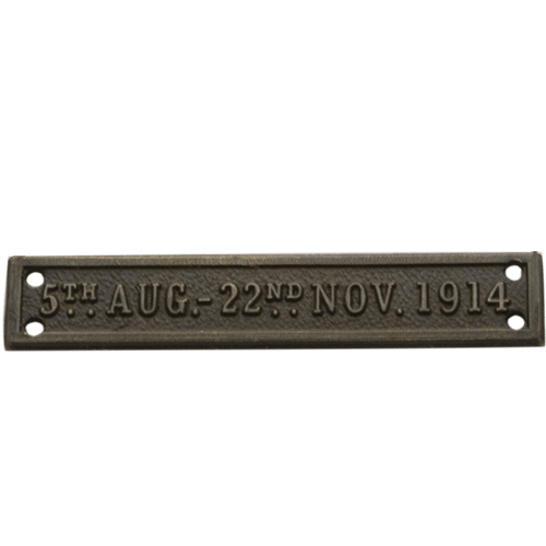 MONS Bar 1914 Star Clasp