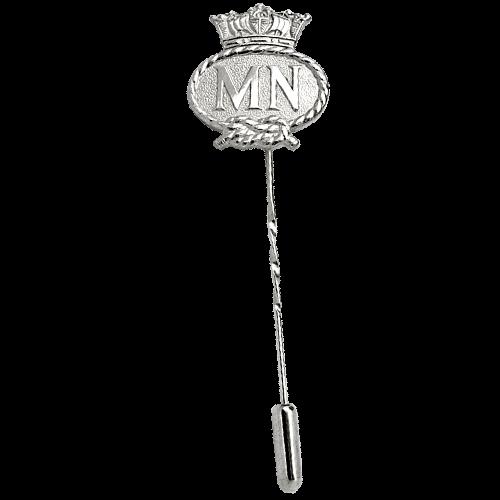 Merchant Navy Silver Tie Pin