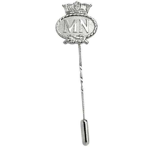 Merchant Navy Silver Tie Pin