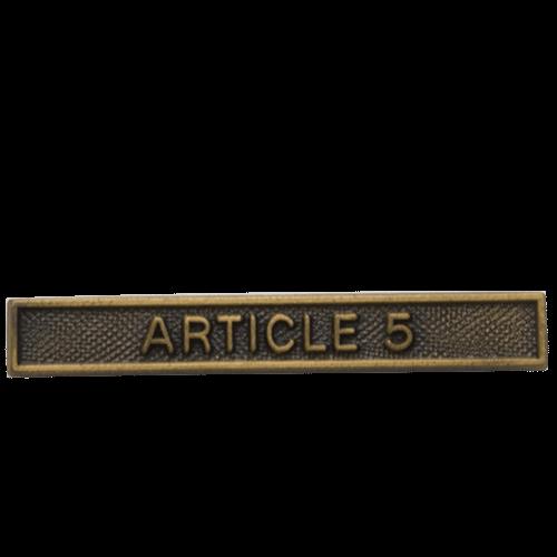 NATO ARTICLE 5 CLASP