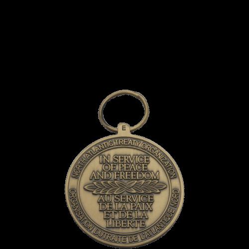 NATO Medal Reverse