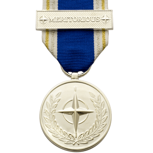 Image result for nato meritorious service medal 2019