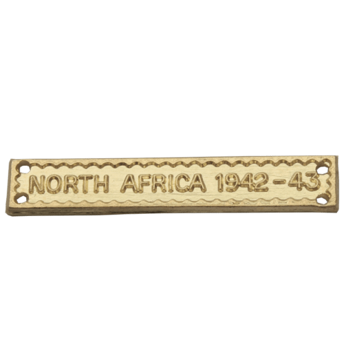 North Africa 1942-43 Clasp World War 2