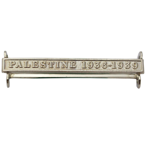 Palestine 1936-39 Clasp Naval General Service