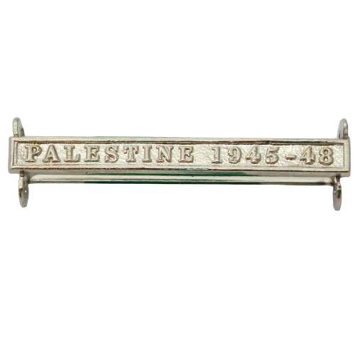 Palestine 1945-48 Clasp Naval General Service NGSM