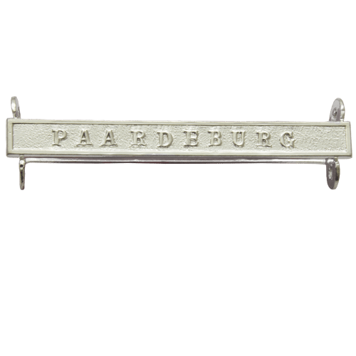 Queens South Africa QSA Clasp PAARDEBURG QSA