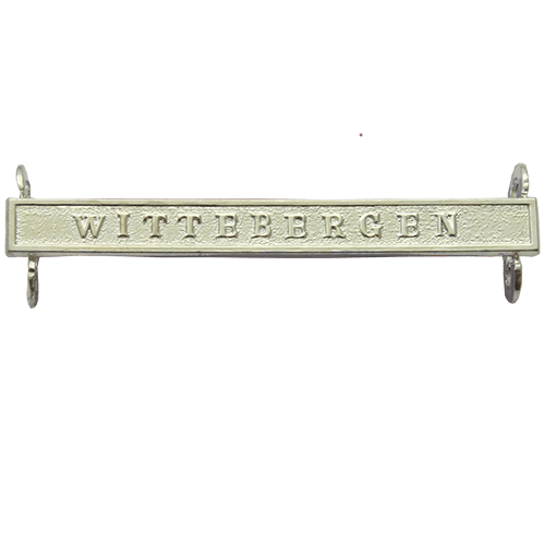 Queens South Africa QSA Clasp WITTEBERGEN