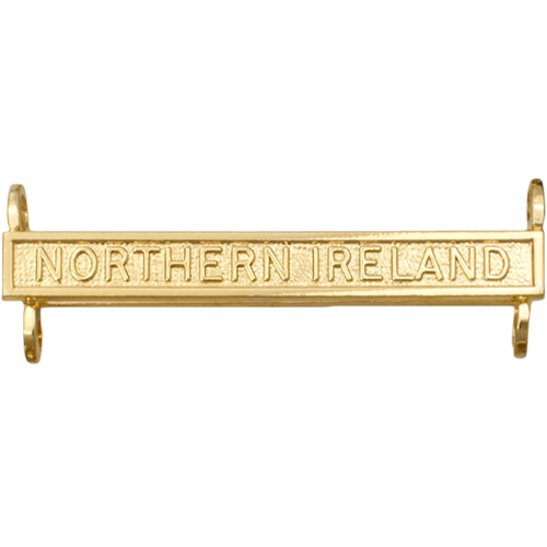 Active Service Medal Clasp Example Northern Ireland
