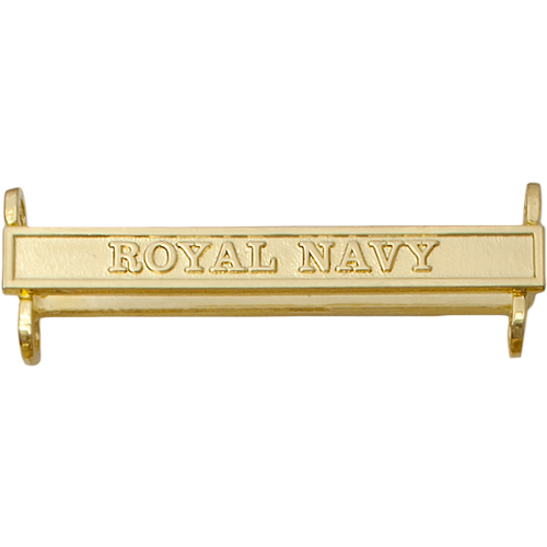 Active Service Medal Clasp Example Royal Navy