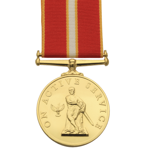 Active Service Medal Commemorative