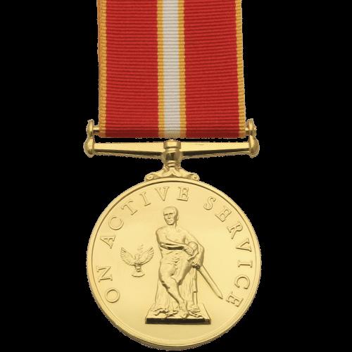 Medalla de servicio activo conmemorativa