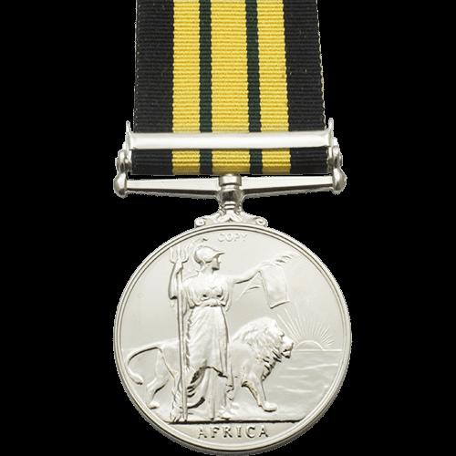 Africa General Service Medal EIIR Reverse