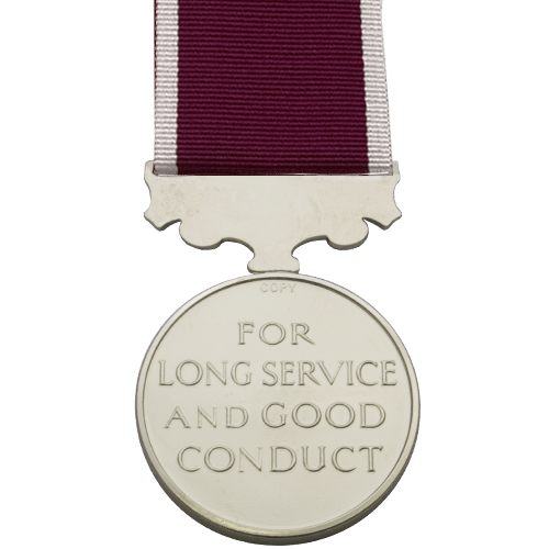 Army Long Service And Good Conduct LSGC Medal Reverse