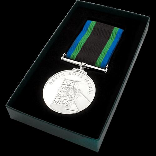 Bevin Boys Medal Commemorative Boxed