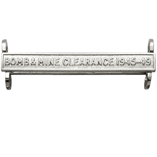 Bomb & Mine Clearance 1945-49 Clasp General Service Medal