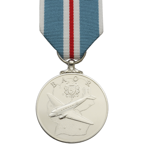 British Army Of The Rhine Medal Commemorative