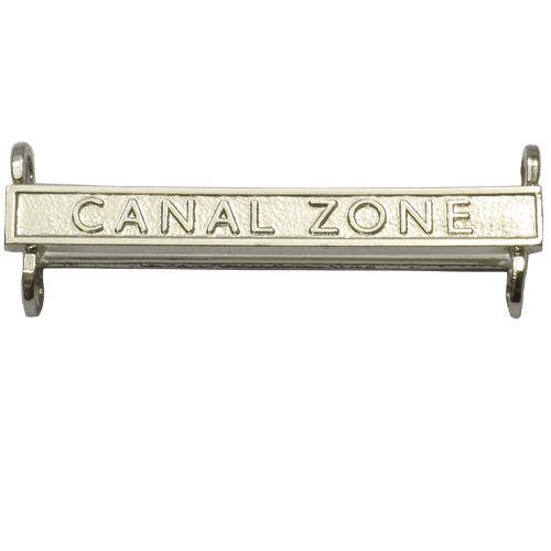 Canal Zone Clasp General Service Medal