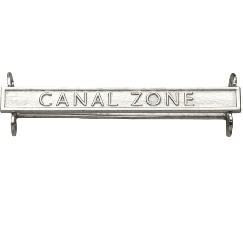 Canal Zone Clasp Naval General Service
