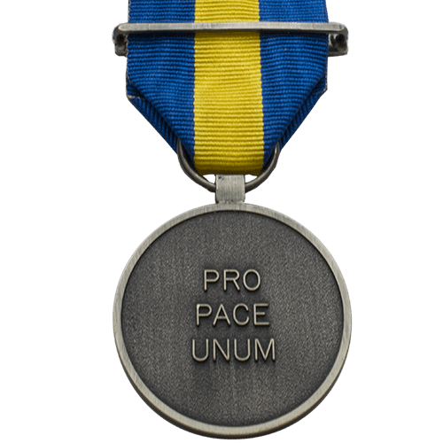 Common Security Defence Policy Service CSDP ESDP Medal Reverse