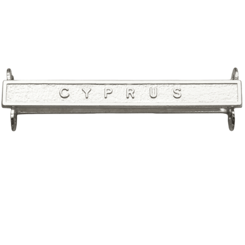 Cyprus Clasp Naval General Service
