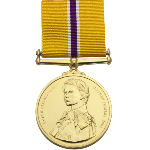 Golden Jubilee Medal Commemorative