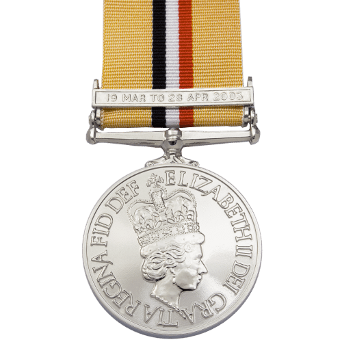 Iraq Medal with Clasp