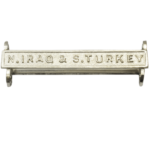 N Iraq And S Turkey Clasp General Service Medal
