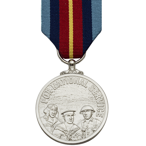 National Service Medal Commemorative