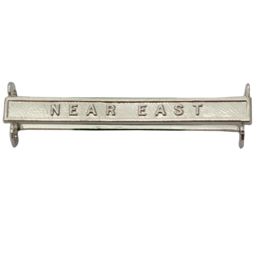 Near East Clasp Naval General Service