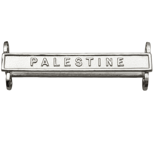 Palestine Clasp General Service Medal