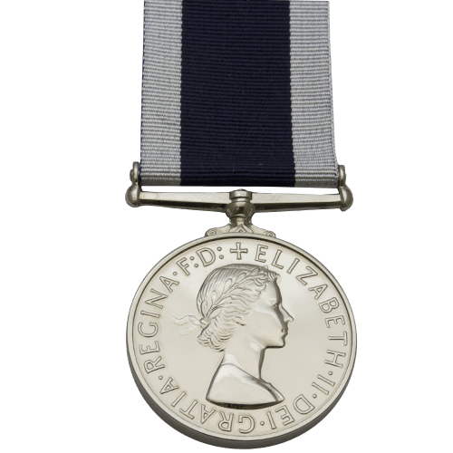 Royal Naval Long Service And Good Conduct LSGC Medal EIIR
