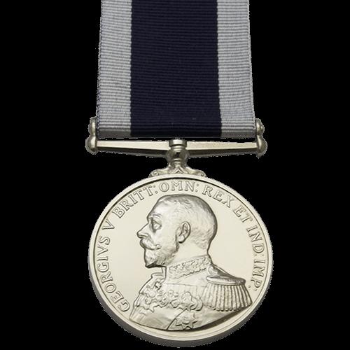 Royal Naval Long Service e buona condotta LSGC medaglia GV