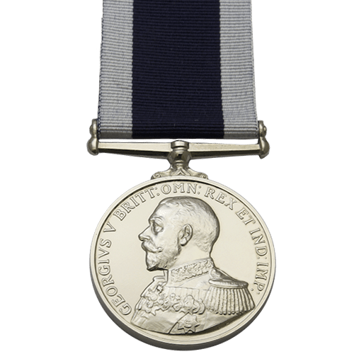 Royal Naval Long Service And Good Conduct LSGC Medal GV