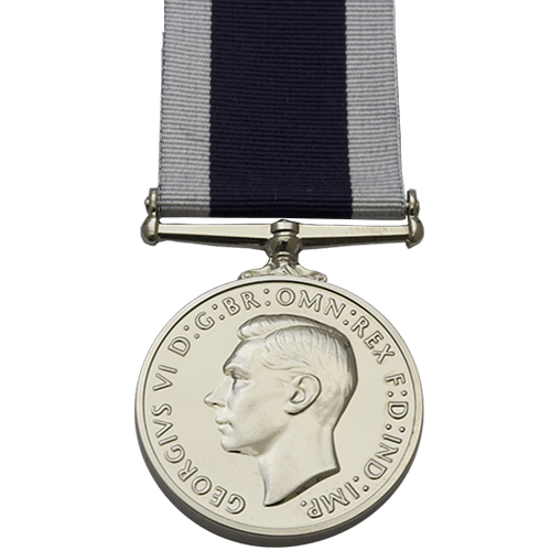 Royal Naval Long Service And Good Conduct LSGC Medal GVI