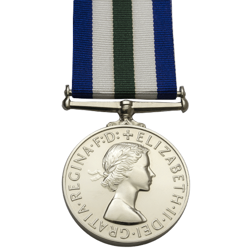 Royal Naval Reserve Long Service And Good Conduct Medal 1958 Onwards EIIR