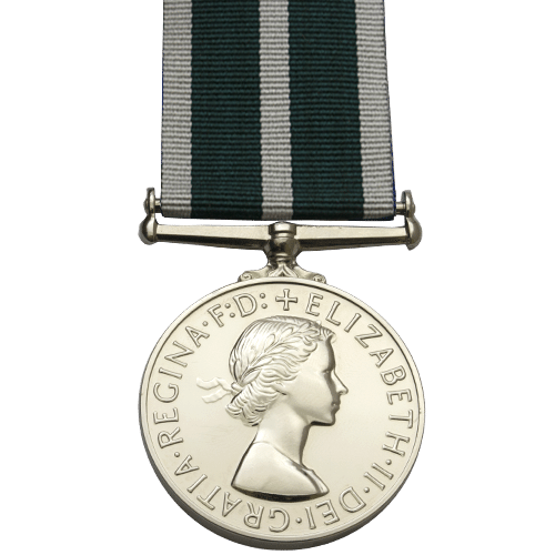 Royal Naval Reserve Long Sevice And Good Conduct Medal Pre 1958 EIIR