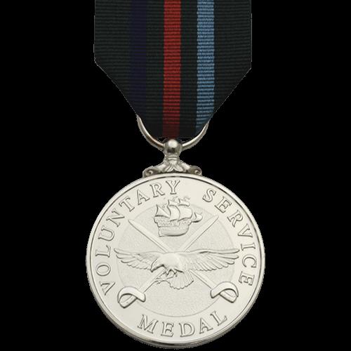 Voluntary Service Medal Commemorative