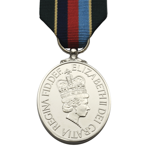 Volunteer Reserves Service Medal VRSM