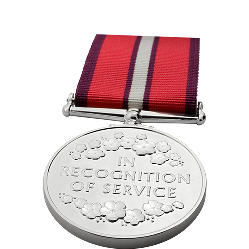 Womens Service Medal Commemorative Reverse