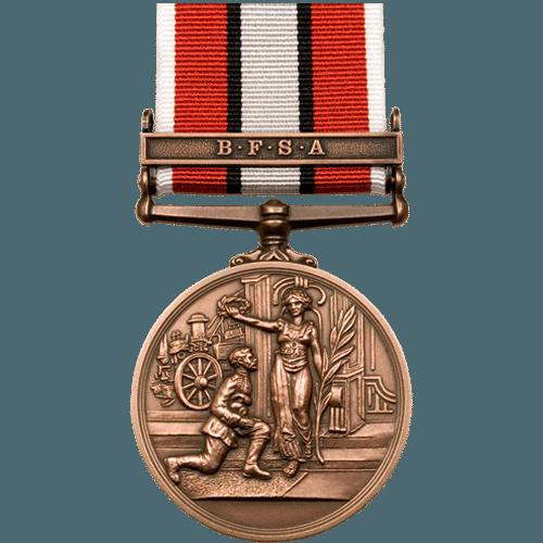 British Fire Service Association BFSA Bronze Medal