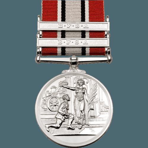 British Fire Service Association BFSA Silver Medal