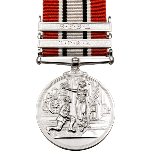 British Fire Service Association BFSA Silver Medal