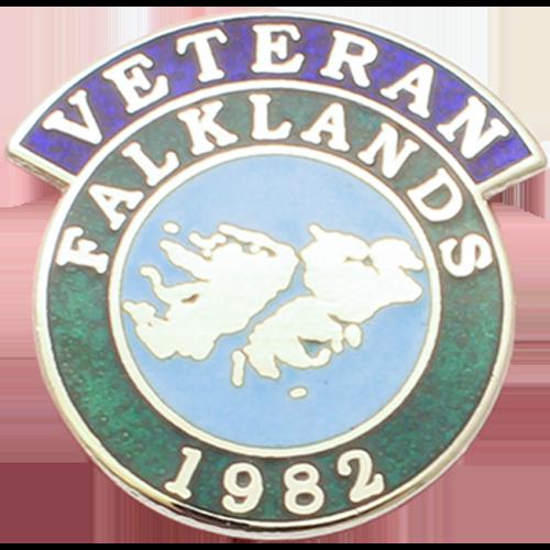 Falklands Veterans Badge Enamelled