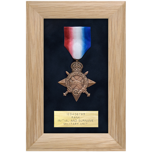 Medal Display Frame Single Medal