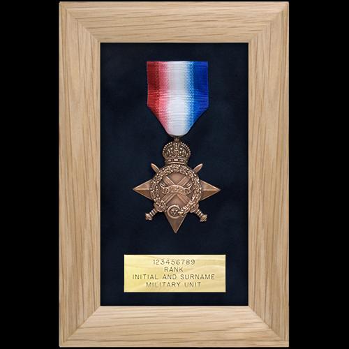 Medalla marco de exhibición sola medalla