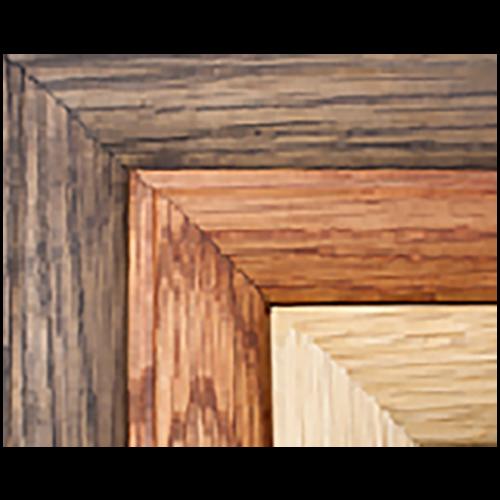 Medal Display Frame Wood Choices