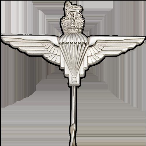 Parachute Regiment Tie Pin Close Up